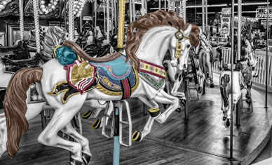 Traditional Galloper Funfair ride