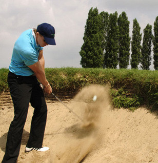 Golf In Bunker