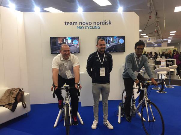 Cycle Simulator hire, Cycling simulator, Virtual reality cycling
