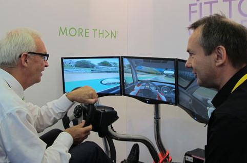 Jon Snow on Driver Training Simulator