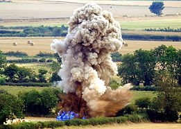 destruction explosif uxo munitions