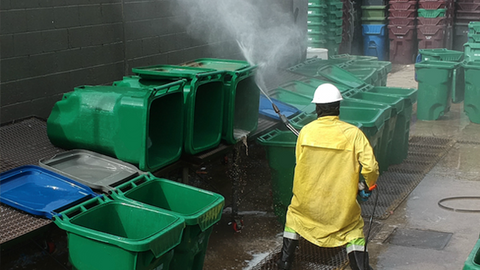 CONTAINER WASHING