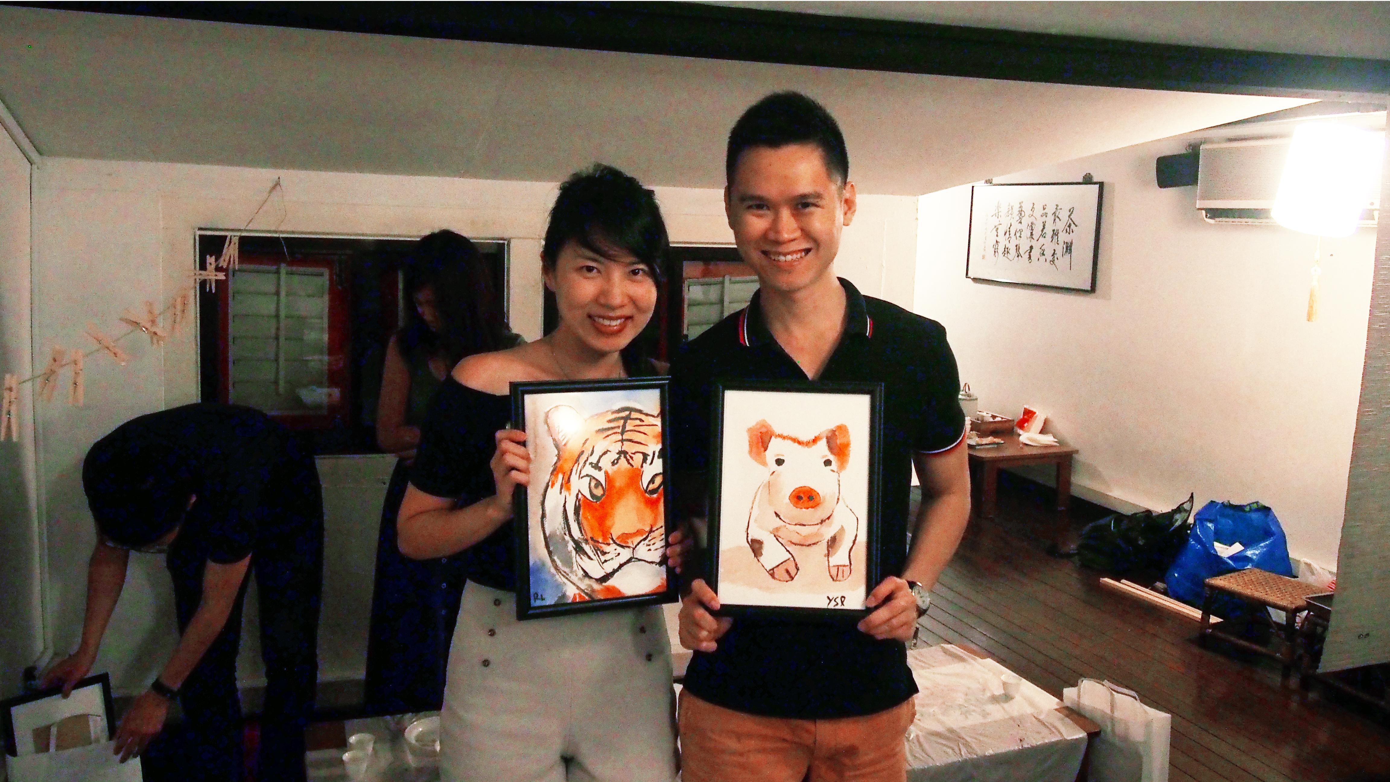 Watercolour Zodiac Animal
