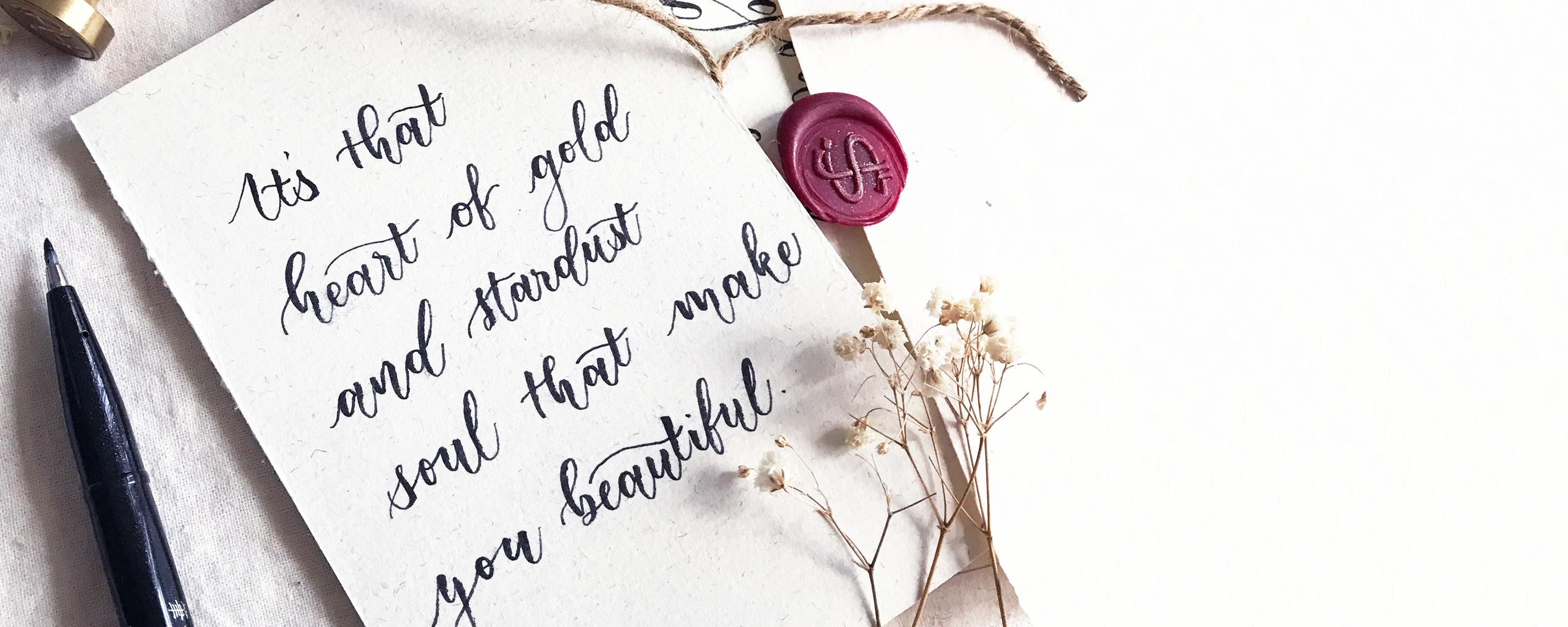 Brush Calligraphy