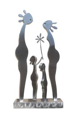 Sculpture-Bonheur-Familial