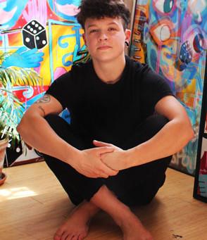 L'artiste Chloé Kelly Miller vient de rejoindre la Galerie Terre d'Ici
