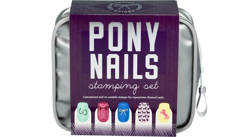 Pony Nails Stamping Set