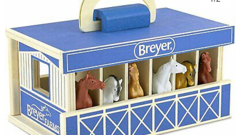 Breyer Wooden Carry Stable