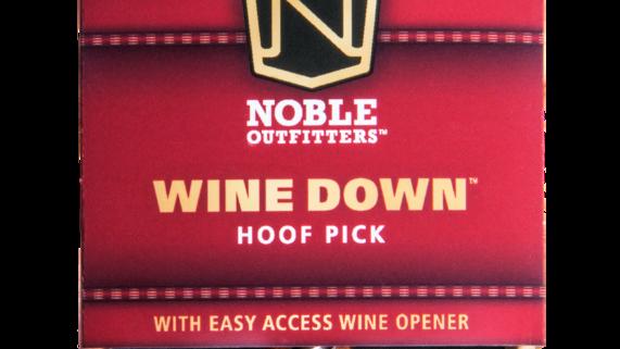 Wine Down Hoof Pick