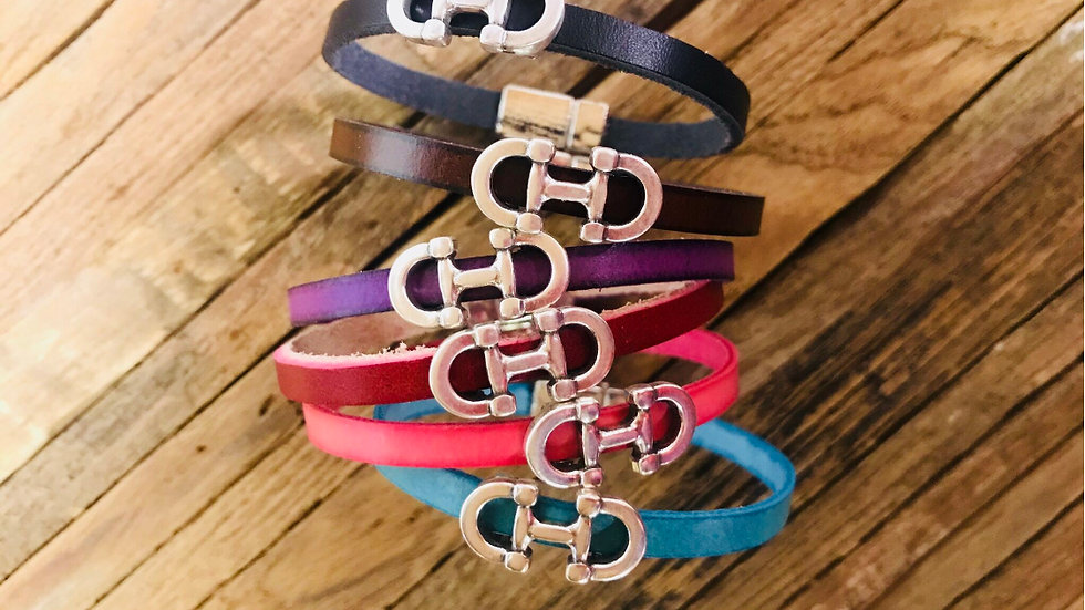 "LILO Collection ""Bilbao"" Leather Bracelet"