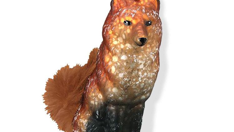 Vintage Fox Ornament