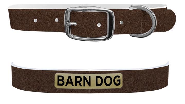 C4 Barn Dog Collar