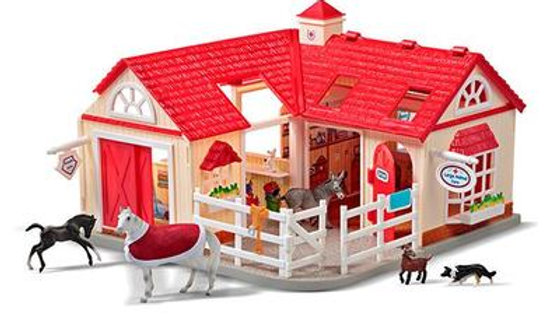 BREYER- Stablemates Deluxe Animal Hospital
