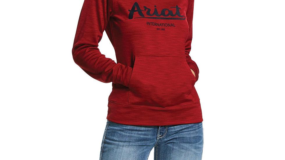 Logo Tek Hoodie - Red