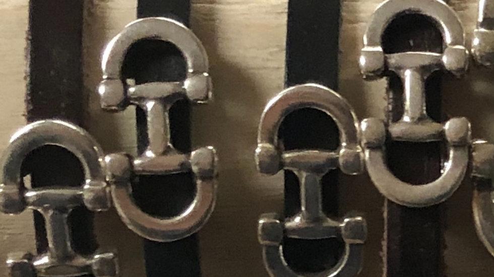 LILO Collections Mini B. Leather Bracelet