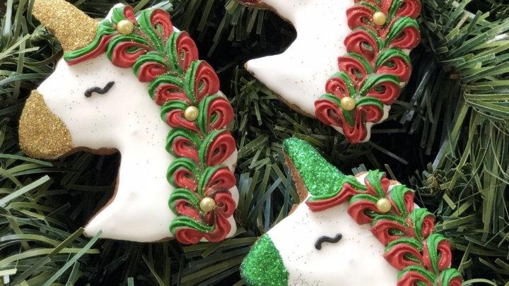 Christmas Unicorns - SnacksFifth Avenchew