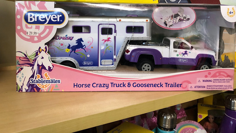 Horse Crazy Truck and Trailer