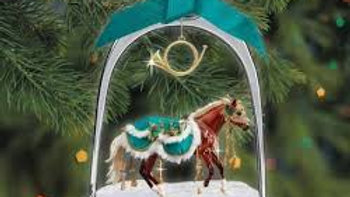 Limited Edition Breyer Minstrel - 2019 Stirrup Ornament