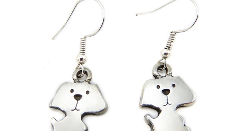 """LILO Collections """"Puppy"""" Earrings"""