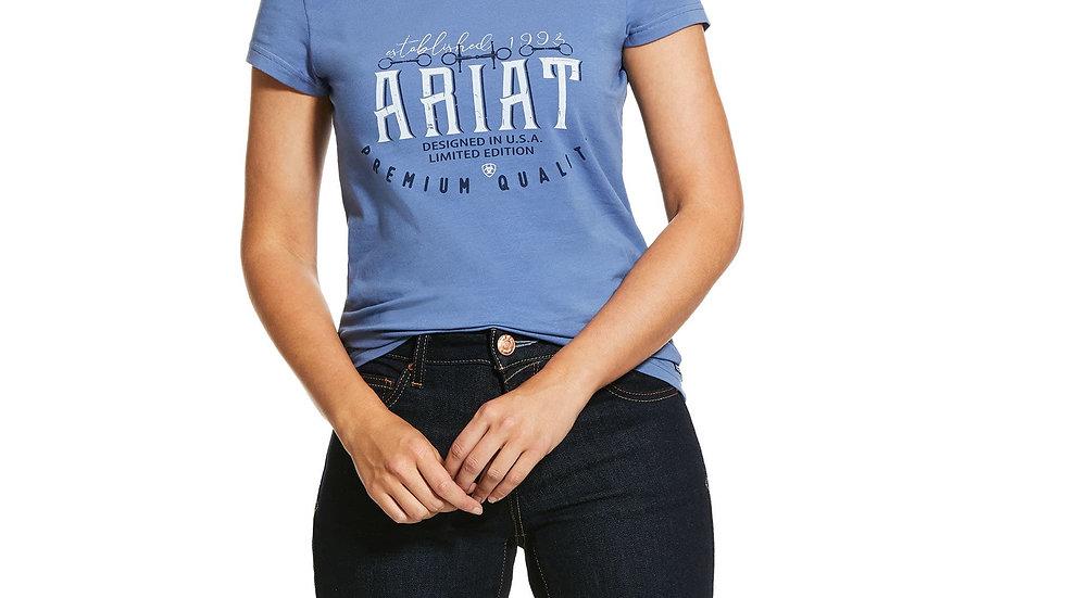 Logo T Shirt - Denim Blue