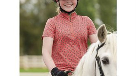 NEW Kids Ice Fil® Lite Short Sleeve Riding Shirt - Print