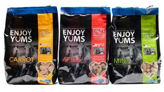 Yums - Carrot, Apple, Mint Treats