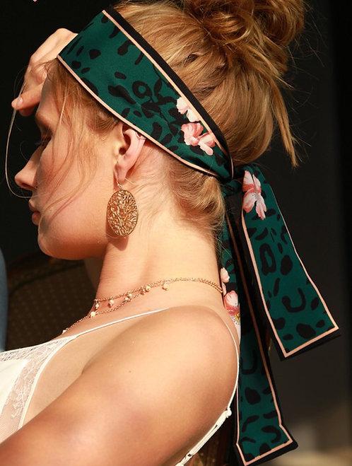 Wild Blossom Head Tie