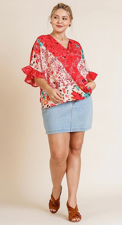 Sumter Top - Red