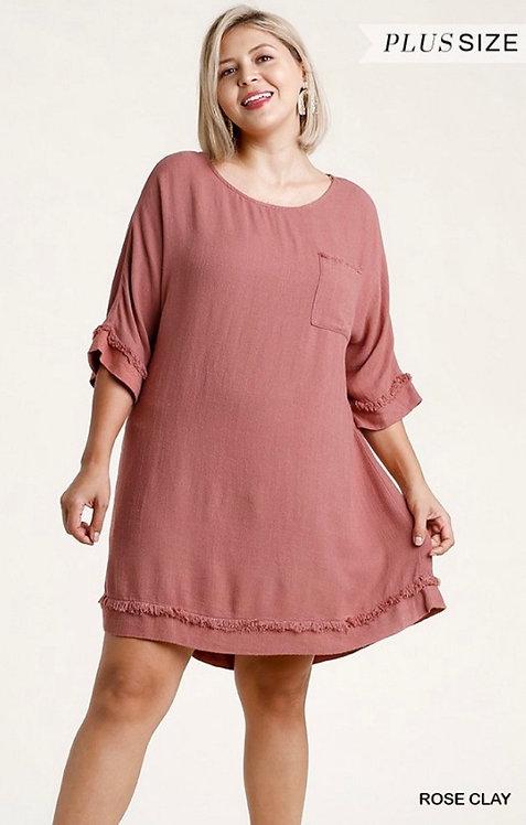 Calexico Dress - Rose Clay