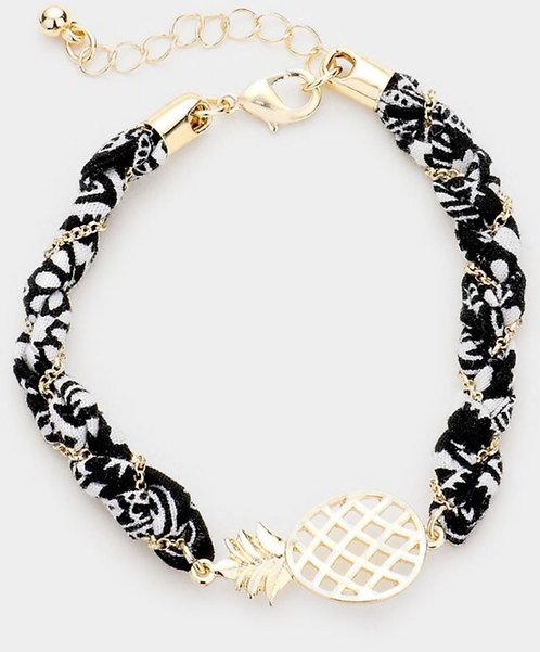 Fineapple Pineapple Bracelet - Black