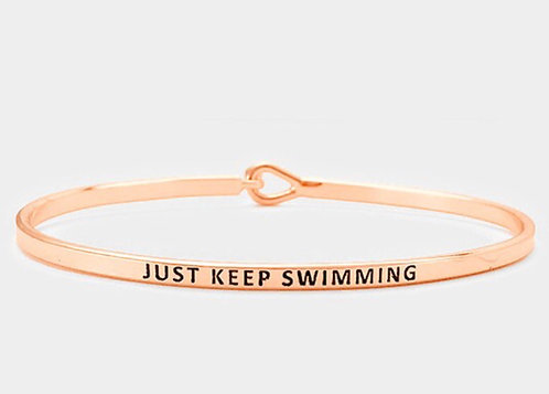 Keep Swiming Bracelet
