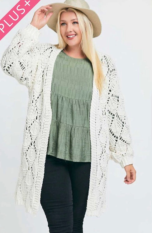 Roseburg Cardigan - Off White