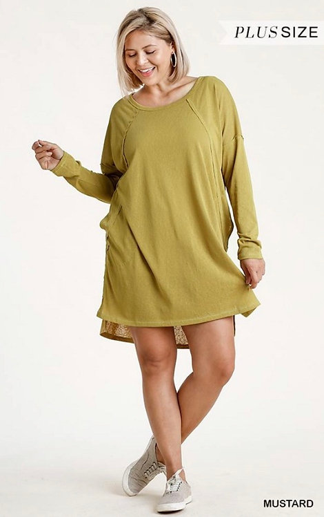 Everett Dress - Mustard