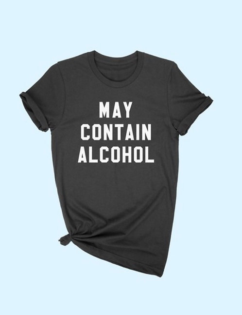 Contain Alcohol Tee