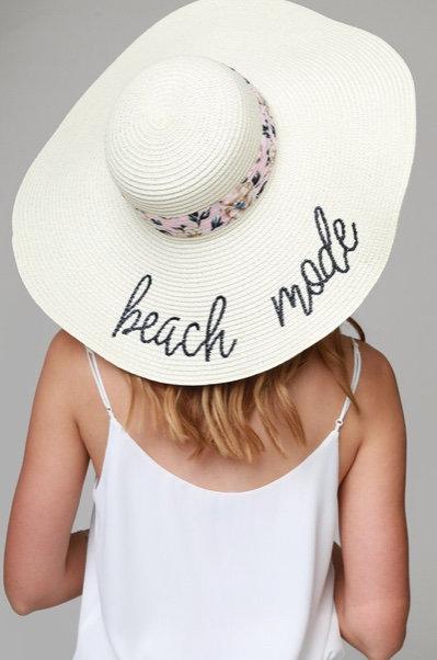 Beach Mode Sun Hat