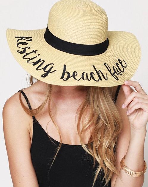 Resting Beach Sun Hat