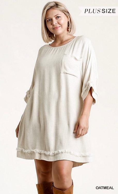 Calexico Dress - Oatmeal