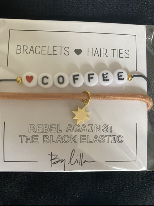 Coffee Hair Ties