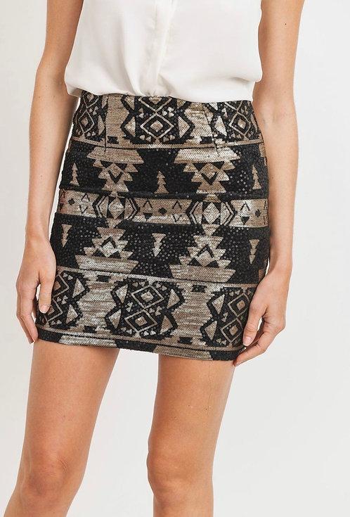 Wildwood Sequin Skirt