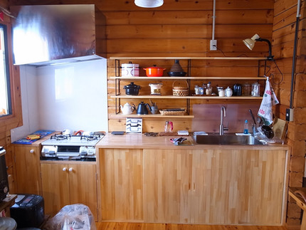 [施工事例]手作りキッチンで造作リフォーム