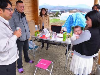 【イベント報告】雫石 国産杉のログハウス 完成見学会