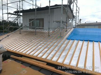 [施工事例] 遮熱+断熱+無垢材で屋内の倉庫スペースを住居へとリノベーション