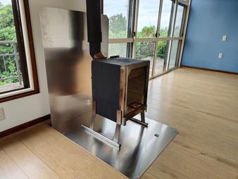 アルミ炉壁&炉台 ARCRAY初期試作型をお客様宅に設置