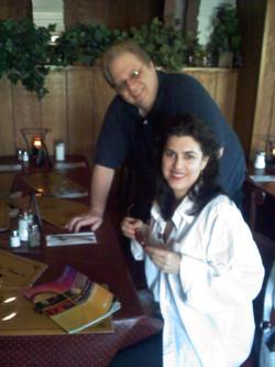 Bruce Otto at Little Toni's