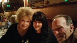 w Sue Raney and Carmen Fanzone