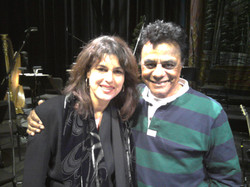 Calabria and Johnny Mathis