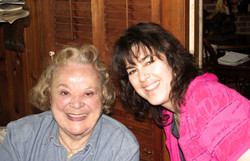 Calab with the Great Rose Marie