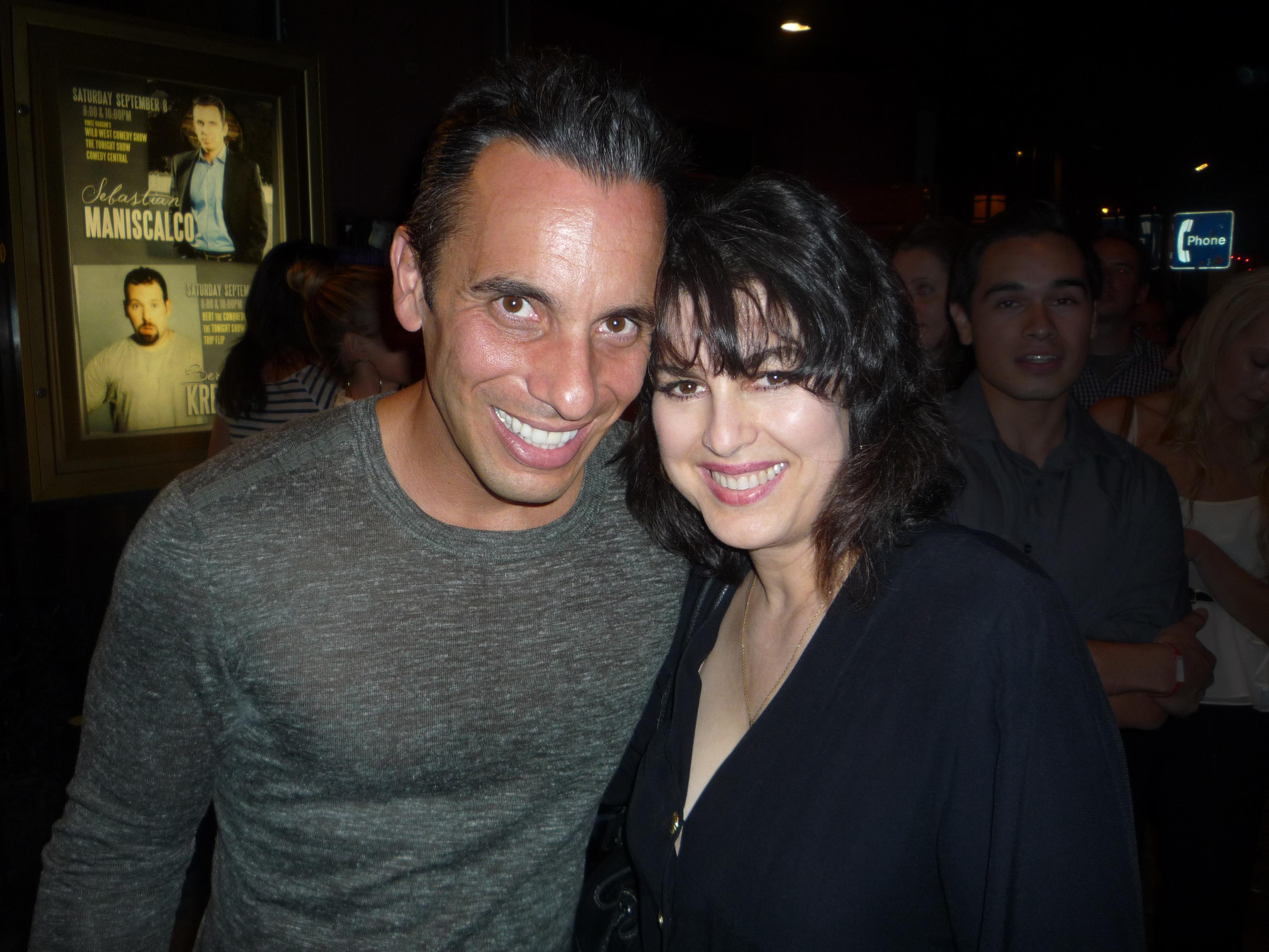 with Comedian Sebastian Maniscalco