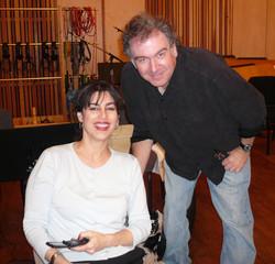 Bob & Calab at Fox Recording Studios