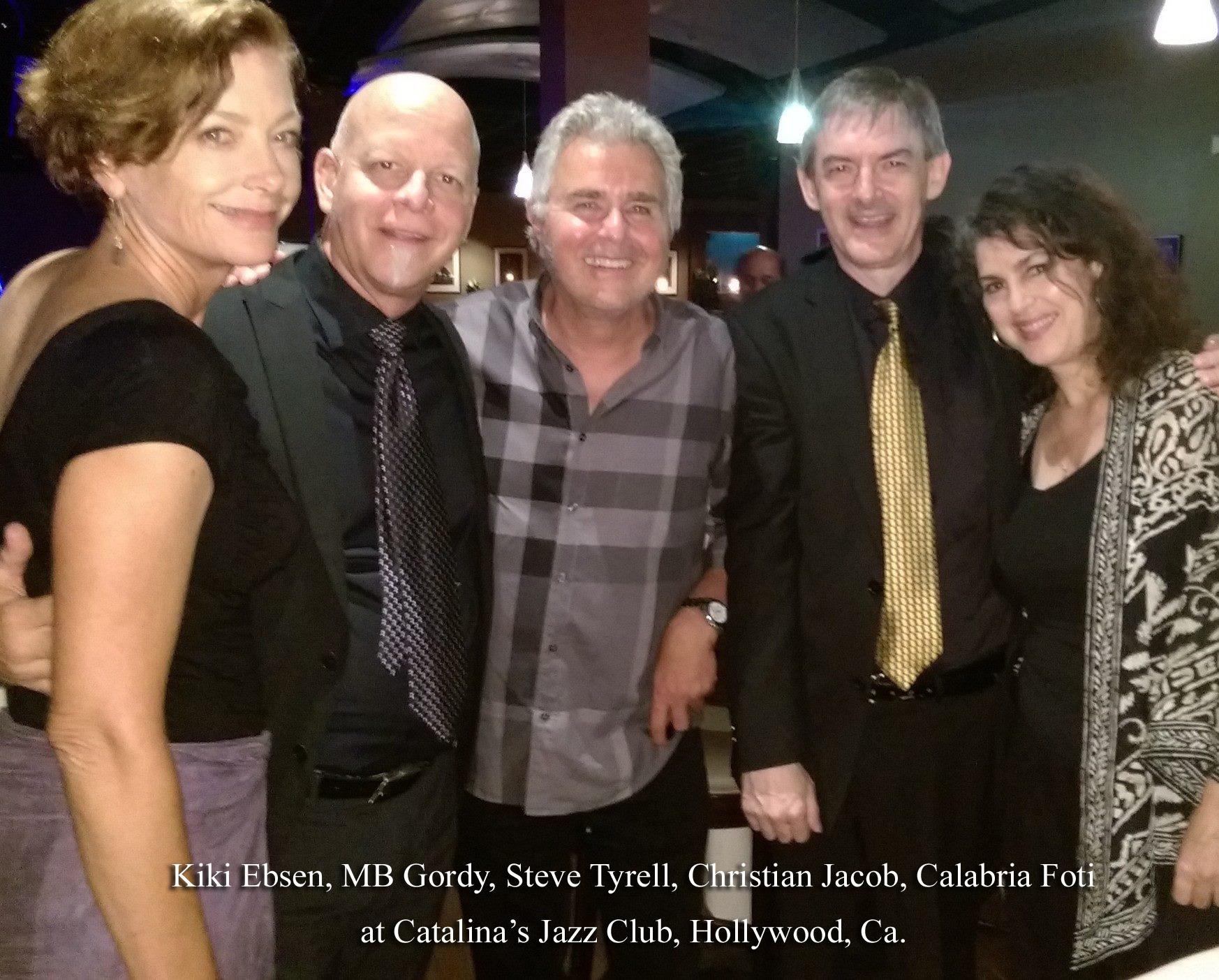 Calab and Friends at Catalinas